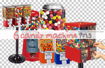 6 candy machine png