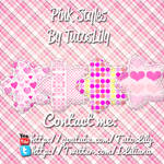 Pink Styles by tutoslily