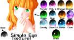 [MMD] Simple Eye Textures! [+Download]