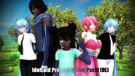 [MMD] IdolLoid V3 models! [+DL!]