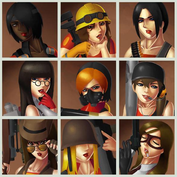 аватарки для steam девушки: