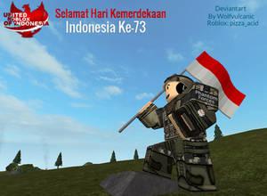 Roblox : Selamat Hari Kemerdekaan Indonesia Ke-73