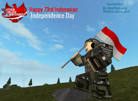 Roblox : Happy 73rd Indonesian Independence Day