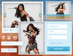 Diana (Wonder Woman) PNG Pack #1