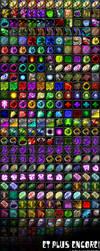 Icon List World of Warcraft by Goblinounours
