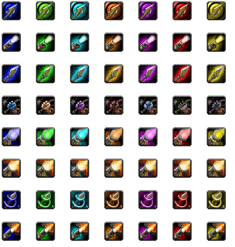 Macro Icon Pack for Hunter by Goblinounours on DeviantArt