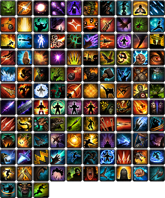 Macro Icon Pack from Diablo 3 by TSG-Arakara