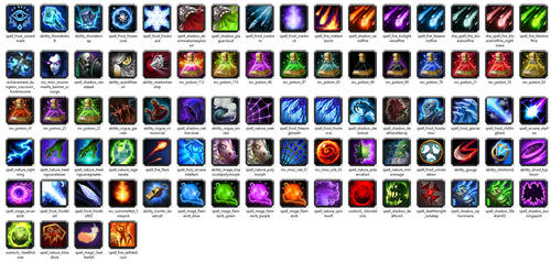 World of Warcraft HD icon pack