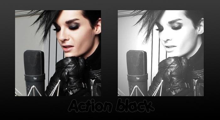 Action Black. by AwsBillkaulittz