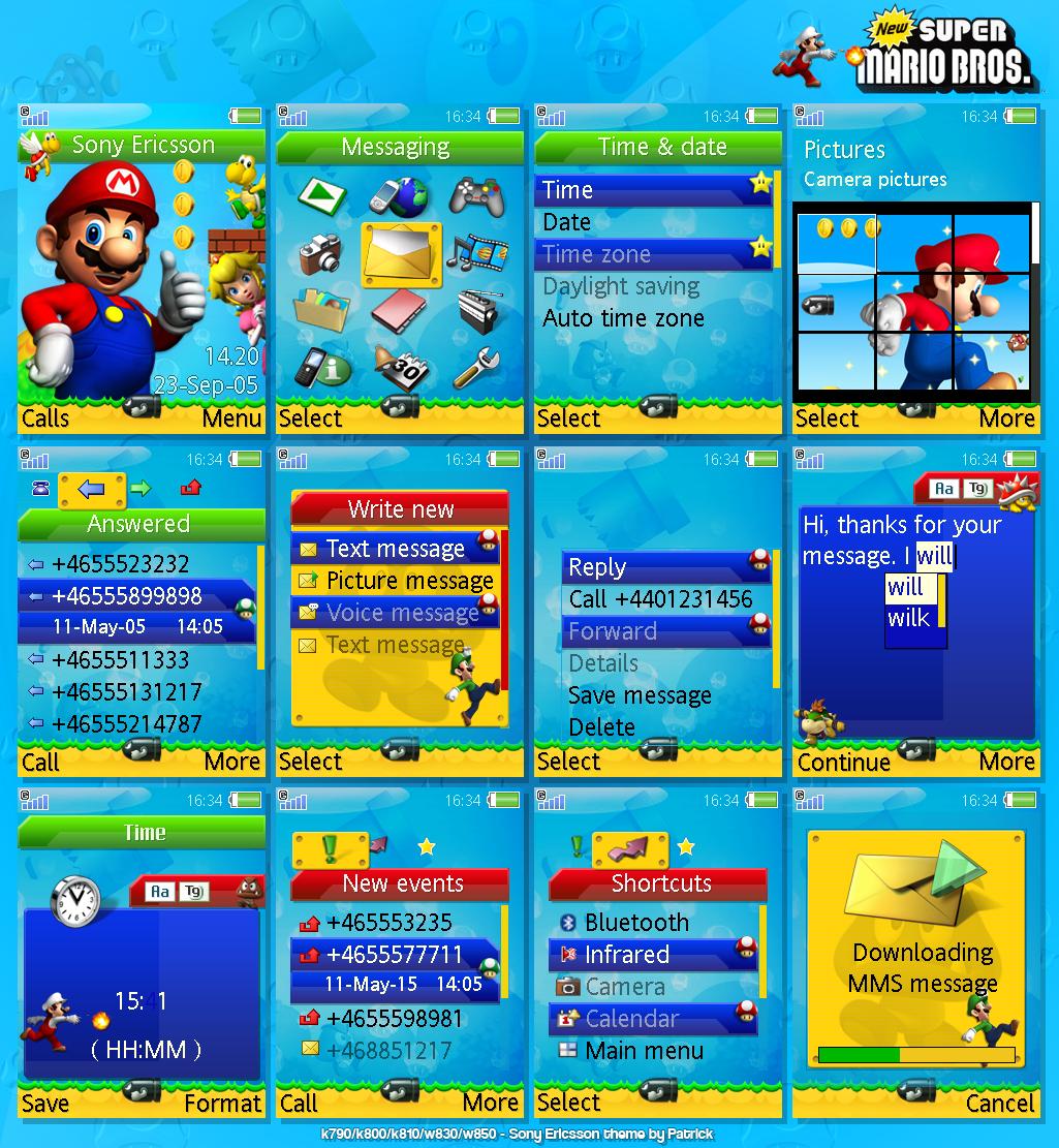 New Super Mario Bros by PatrickL