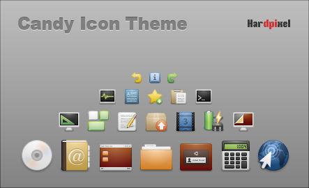 Candy Icon Theme - 1.0-beta