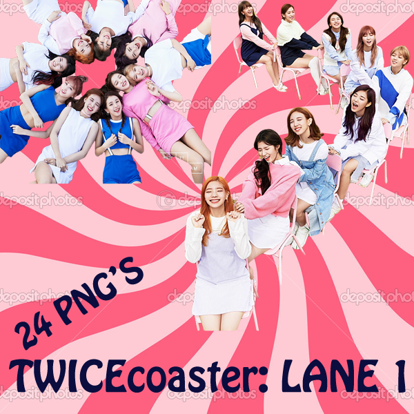 TWICEcoaster LANE 1 png by MickeyPinkpanda on DeviantArt