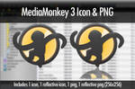 MediaMonkey 3 Icon and PNG