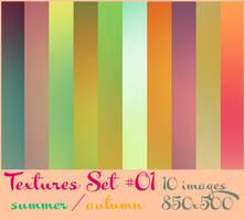 Textures Set 01 by FashionVictim89
