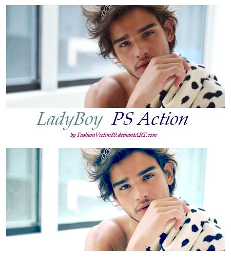 PS Action - LadyBoy by FashionVictim89