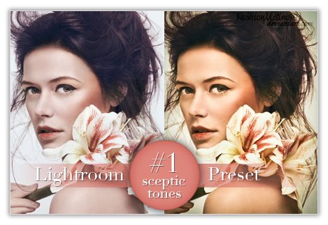 Sceptic Tones Lightroom Preset - FREE by FashionVictim89