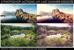 My Last Summer - 2 Photoshop Actions
