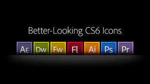Better-Looking CS6 Icons