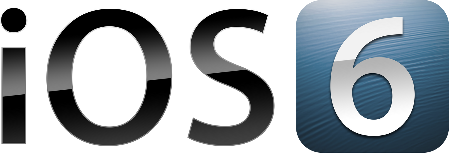 iOS 6 Logo PSD + PNG by theIntensePlayer