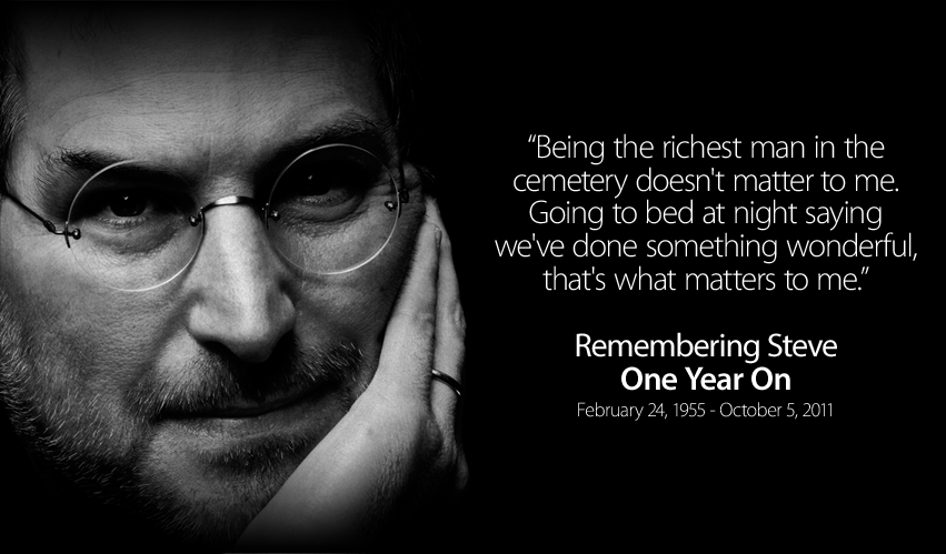 Remembering Steve: One Year On Facebook Cover