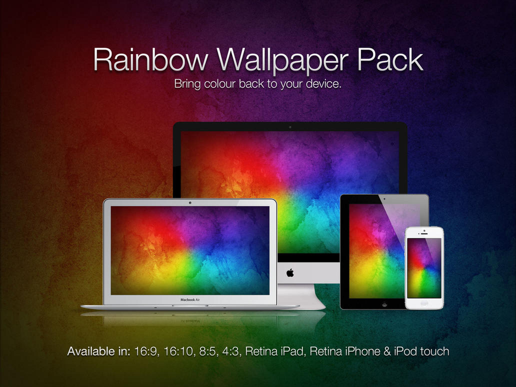 Rainbow Wallpaper Pack by theIntensePlayer