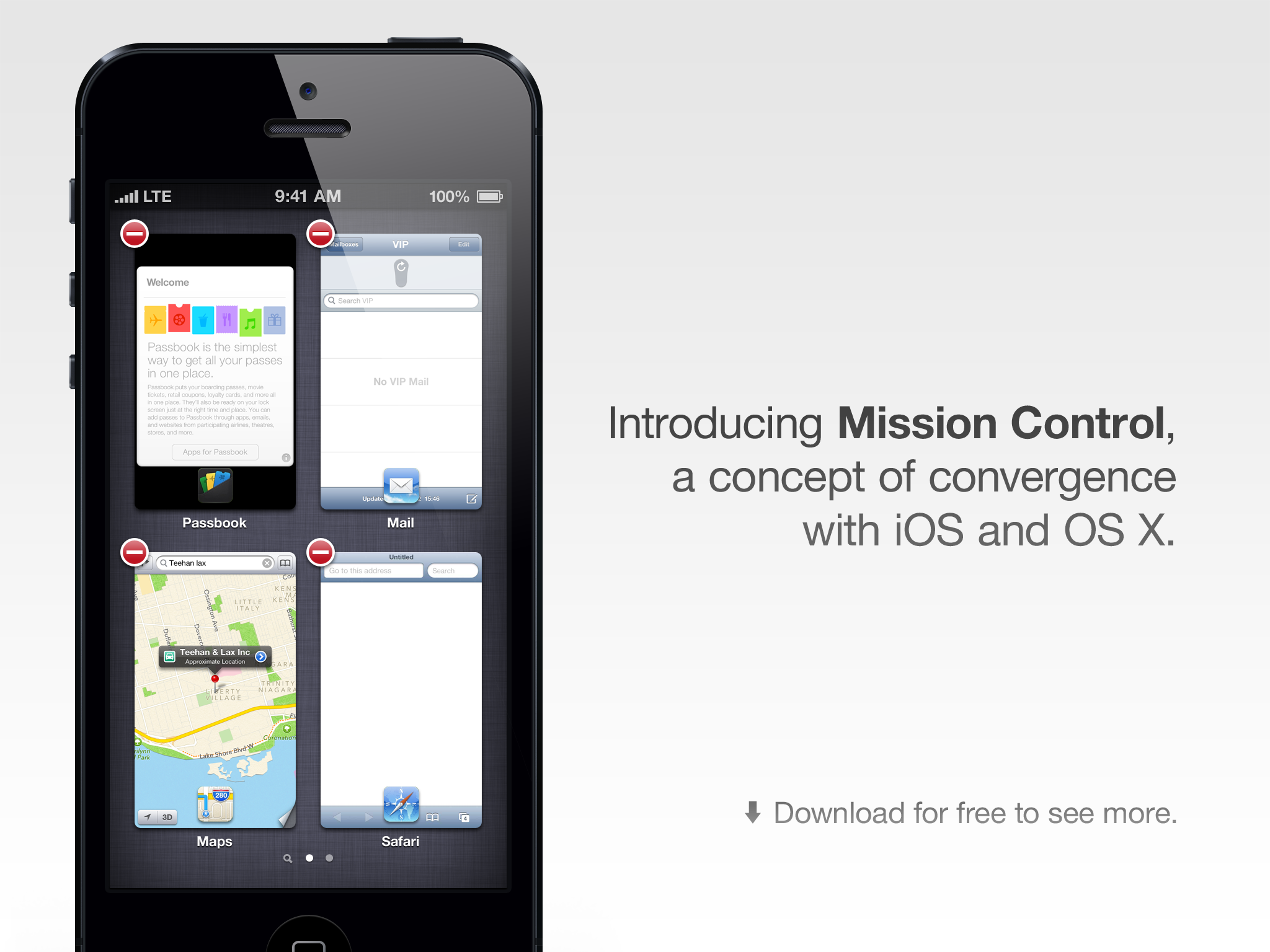 Redesigning the iOS App Switcher: Mission Control
