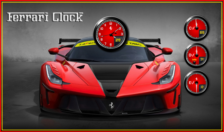 Ferrari Clock by kjc66
