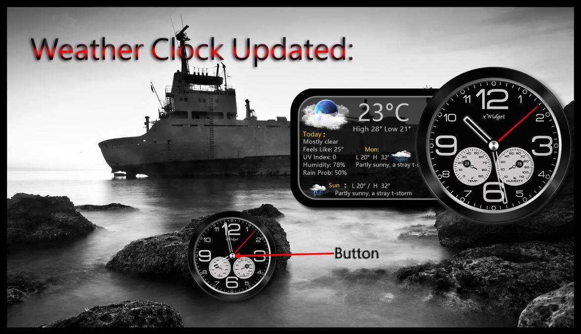 Weather Clock by kjc66