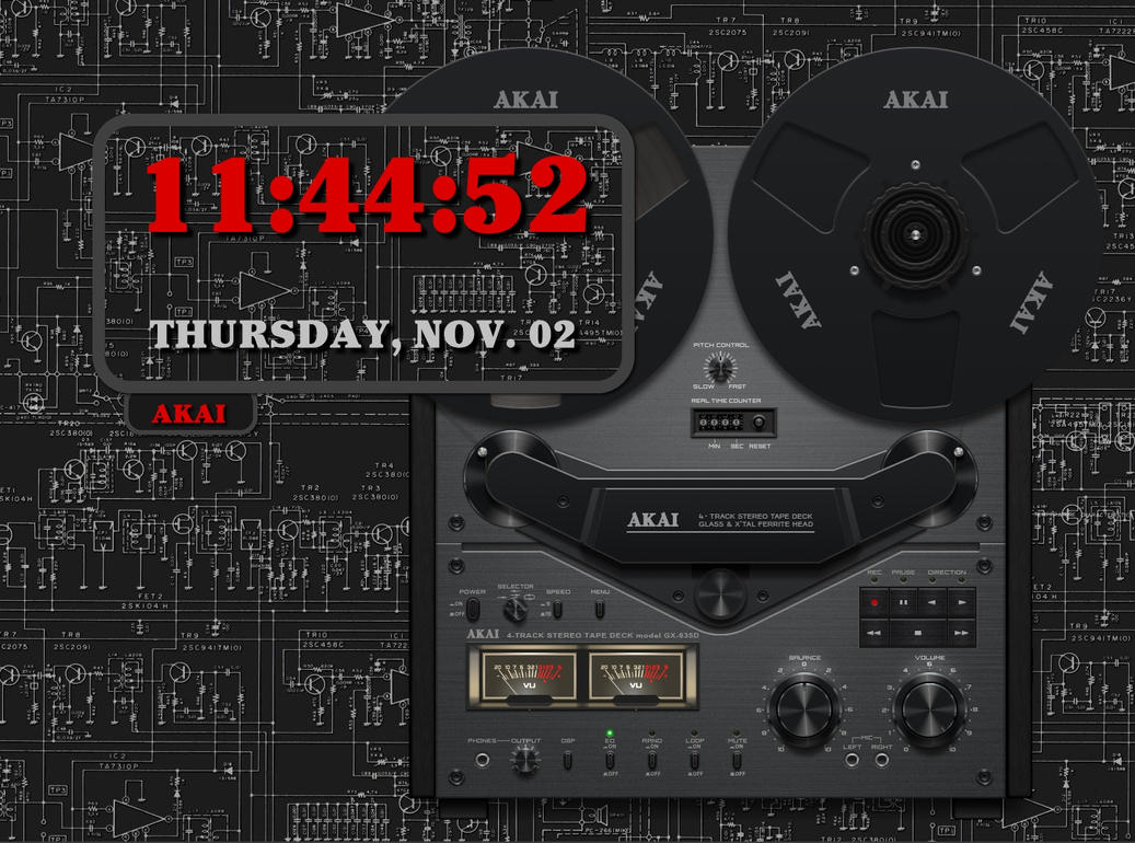 Akai Clock by kjc66