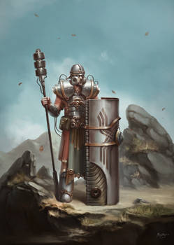 Sci-Fi Roman Legionnaire Concept (Animated)
