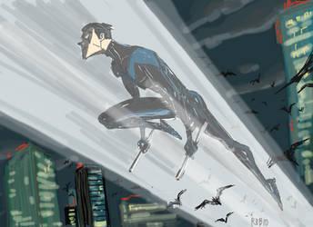 Nightwing by BobbyRubio