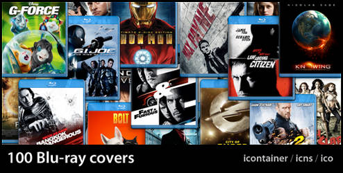 100 Blu-ray covers by TwylightTwylight