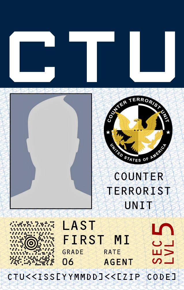 CTU ID Badge by SamwiseVT on DeviantArt