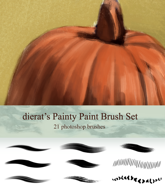 My Painty Paint Brush Set by dierat on DeviantArt