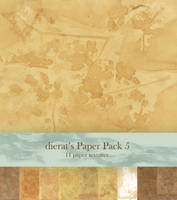 Paper Pack 5 by dierat