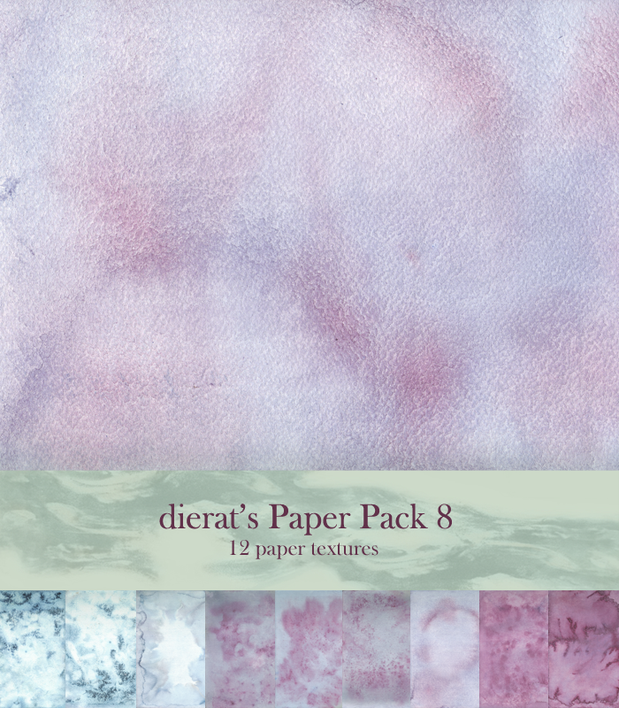 Paper Pack 8 by dierat