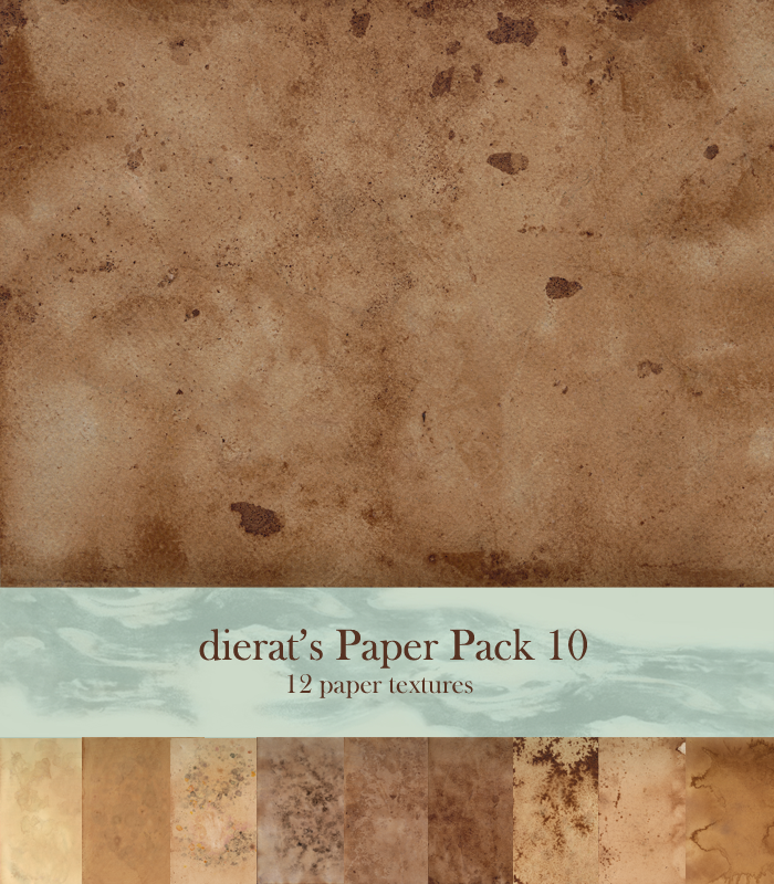 Paper Pack 10 by dierat