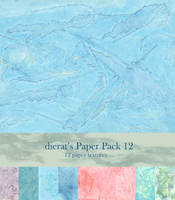 Paper Pack 12 by dierat
