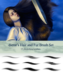 Hair and Fur Brush Set