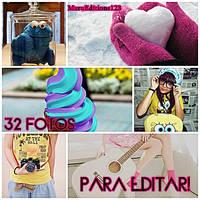Pack De Fotos Para Editar by MaruEditions123