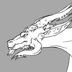 Flying dragon - animation by nikyri