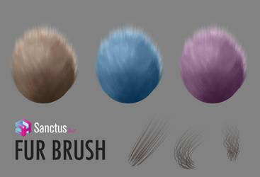 Sanctus Fur Brush by thesanctus
