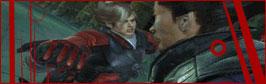 Lars encounters Kazuya GIF