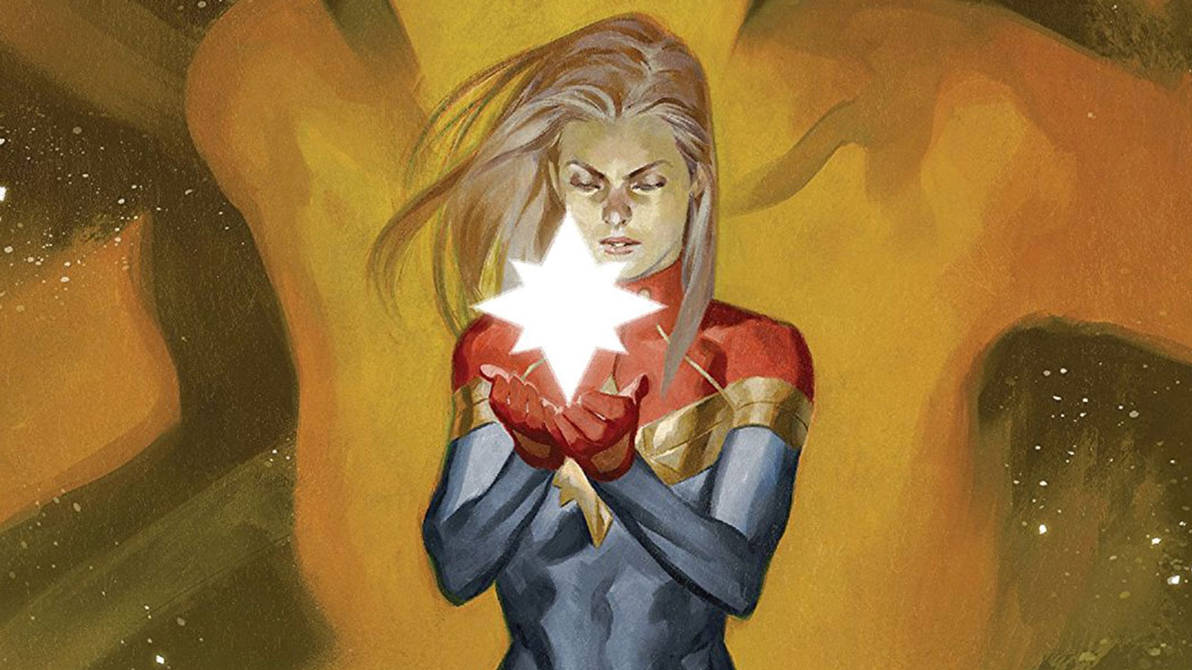 Download Cpt Marvel And Ms Marvel Wallpapers Hd By Jmarvelhero On