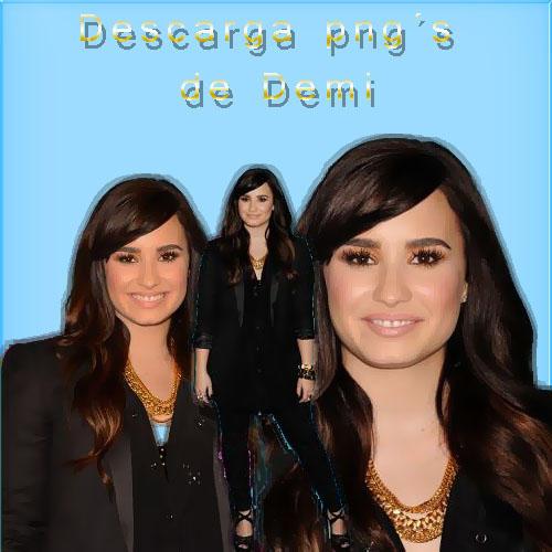 Descarga 5 pngs de Demi Lovato by Romiiiiiiiiiiiiiiiii