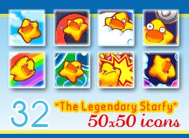 32 50x50 Starfy Icons by Kniye