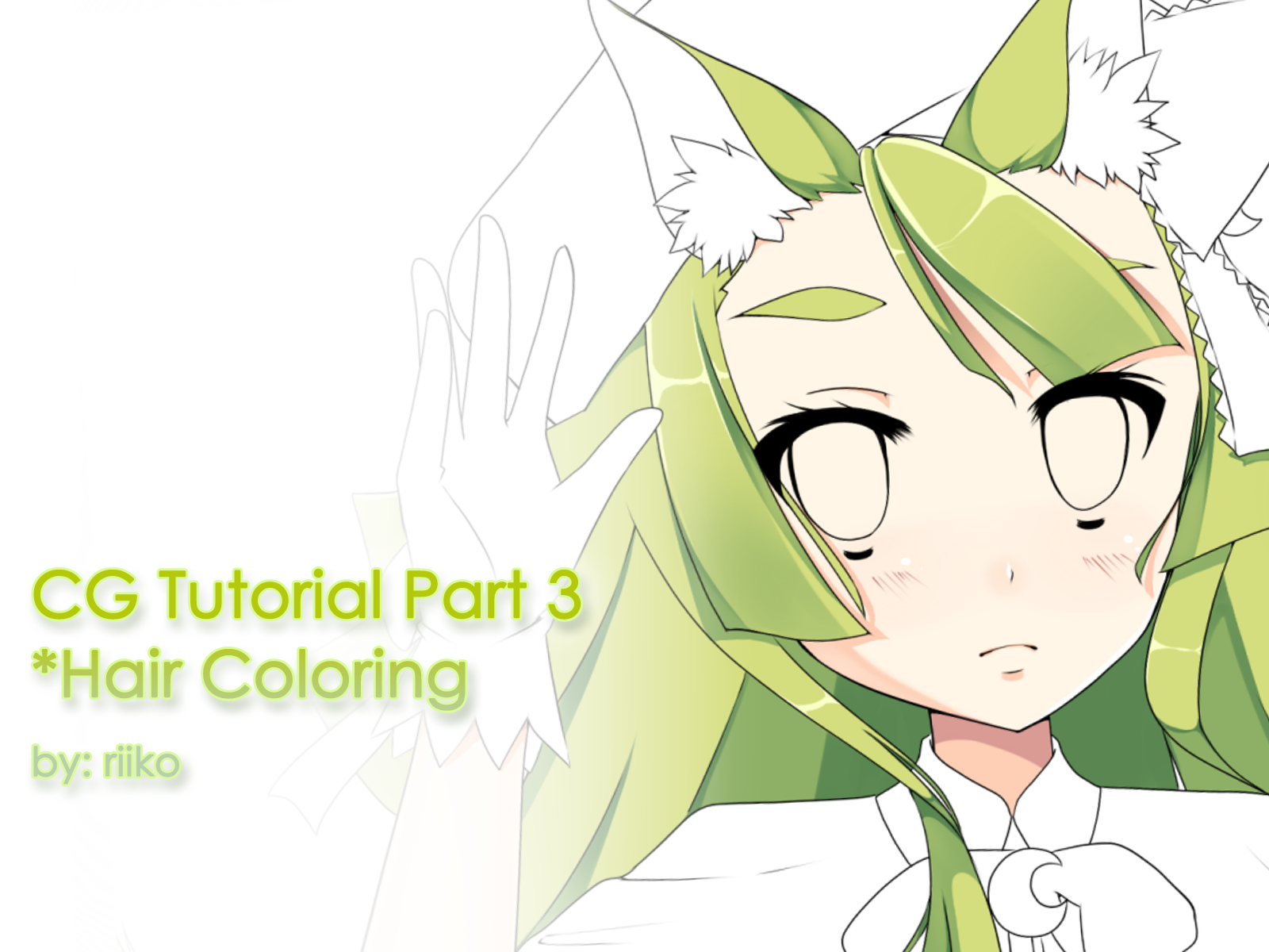 CG Tutorials [Part 3] Hair Coloring by Riikochan-Artworks on DeviantArt