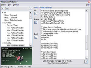 Global Variable Manager