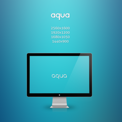 Aqua WP by 9dZign