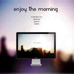 Enjoy the morning by leoatelier